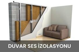 duvar ses izolasyonu